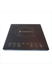 Wonderchef WCF-H14 2000-Watt Induction Plate (Black) energy efficient