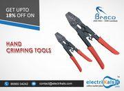 Buy Braco THD-6LA 0.5-6 Sq.mm Hand Crimping Tool Online