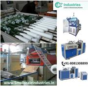 PAPER & FOOD PROCESSESING MACHINERIES