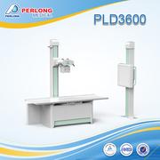 Digital radiography and fluoroscopy X-RAY MACHINE PLD3600