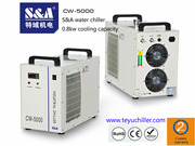 S&A compact laser chiller for visual orientation tour edge laser
