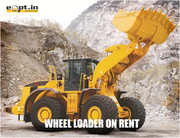 Wheel Loaders construction Equipment for Rent- Eqpt.in