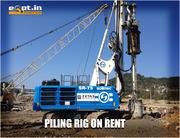 Piling Rig on Hire construction equipment Rental Service Provider Eqpt