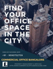 Commercial Office Space in Bangalore