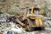 SD7NHW bulldozer For Solid Waste