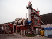 Used stationary asphalt plant
