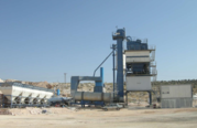 Used Beninhoven TBA-200 stationary asphalt plant