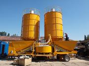 Mobile Concrete Plant M-2200 (60 m3 / h) Sweden