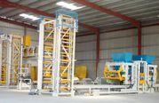 Vibropress,  block machine,  for the production of paving slabs R-400