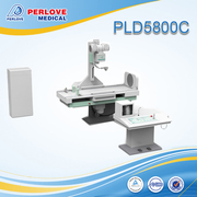 Medical x ray stationary machine PLD5800C