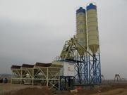 Stationary concrete plant HZS 75 m3 / h