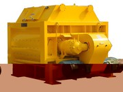 Concrete mixer JS,  2 Shaft horizontal