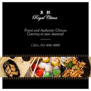 Experience the Authentic Chinese Food at Royal China Delhi