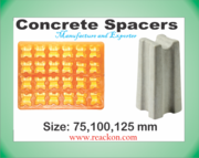 Concrete Spacers Size 75, 100, 125 mm Moulds Manufacturer and Exporter