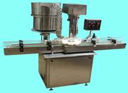 Single Head Automatic Screw Capping Machine - Pragati Pharma Equipment