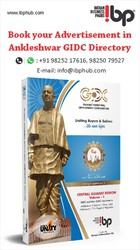 Book your advertisement Now in Ankleshwar GIDC Industrial directory