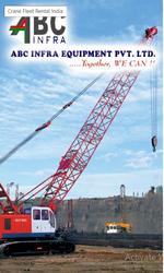 Crane rental companies in India